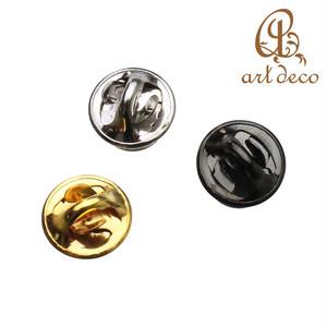 ピンズ バッジ 1個 円形 板付き 直径9mm [pin-9144] 丸 パーツ アクセサリー オリジナル ハンドメイド 材料 卸 装飾 問屋 卸売り