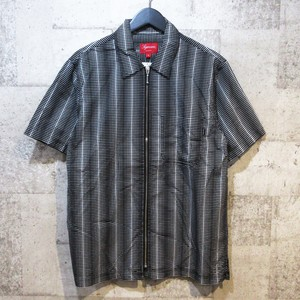 SUPREME 18SS Dots Zip Up Shirt