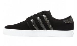 (アディダス オリジナルス) adidas Originals G99714 SEELEY シーリー BLACK×SNAKE