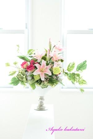 フラワーアレンジメント(造花)