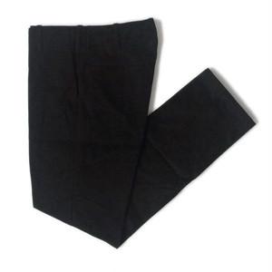 """TUKI(ツキ) """"TROUSERS"""" WEST POINT CLOTH (トラウザーズ ウエストポイントクロス) トラウザーズパンツ (Black)ブラック"""