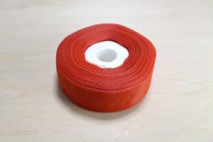 レトロリボン コウパールリボン 赤/緑 一巻 (残り僅か)