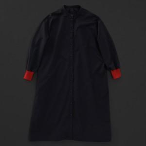 レディス スタンダード ワンピース 黒×赤