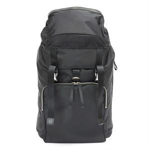 ロリンザ ナイロンツイル  スクエアポケット バッグパック Nylon Twill Square Pocket Backpack Black LO-STN-BP08 LORINZA
