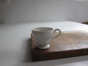 Creil et Montereau レリーフ コーヒーカップ