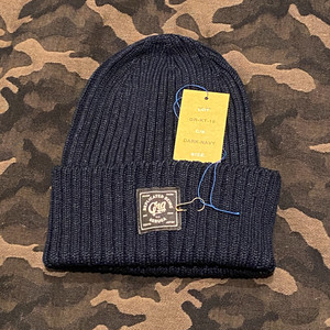 SUMMER KNIT CAP <LINEN> (DARK NAVY) / GERUGA