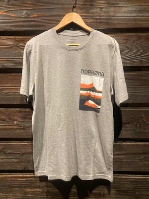 Norrona  /29 cotton mountains T-Shirt  G.Melange  Mサイズ