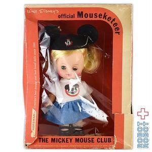 ミッキーマウスクラブ マウスケティア ガール フェルト帽 箱入
