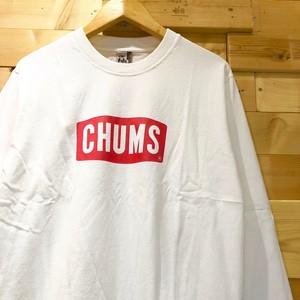 """【新色入荷】CHUMS チャムス ボートロゴ 長袖Tシャツ """"Boat Logo L/S T-shirt"""" ブービー ロンT 長T CH01-1284 CH01-1320"""