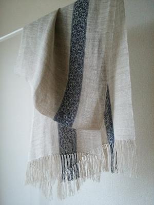 リネンストール 斜紋織