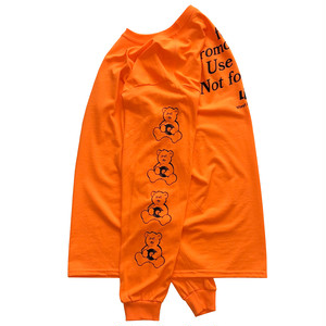 """Need Promotional Vinyl"" L/S Tee (SAFETY ORANGE) / LIFEdsgn"
