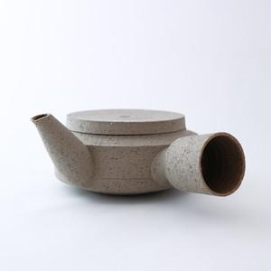 3RD CERAMICS(サードセラミックス) 急須 φ12 × H7cm グレー 陶器 岐阜 多治見市 スタイリッシュ プレゼント テーブルウェア