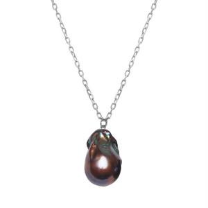 <選べる>【Sクラス】baroque pearl necklace ブラック