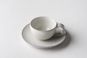 カップ&ソーサー(白釉)