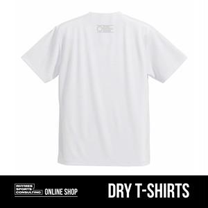 SHOEHURRY! ドライTシャツ(ホワイト×シルバー)