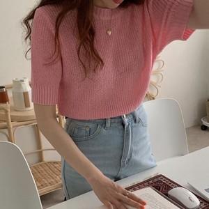 キャンディカラーセーター U3904