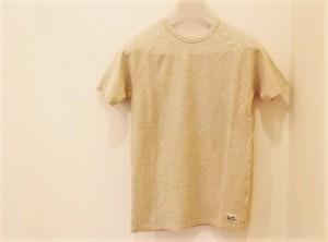 Kepani Short Sleeve T-shirts Oatmeal【KP9901MS】