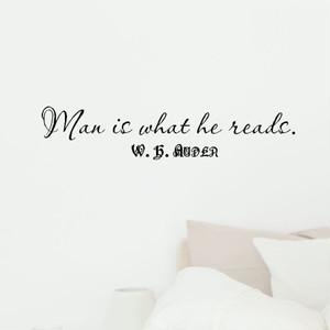 W・H・オーデンの言葉 壁用ステッカー