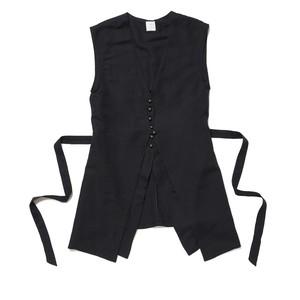 Layered Vest - BLACK