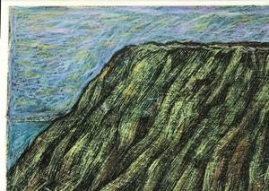 早坂健伸|「崖の上の道」