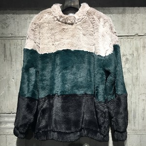 【EFILEVOL】 Colour Blocking Fur P/O