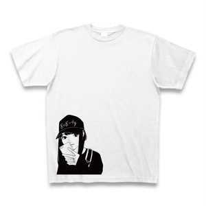 【ハハノシキュウ女体化】Tシャツ(シャツ:ホワイト 文字:ブラック)