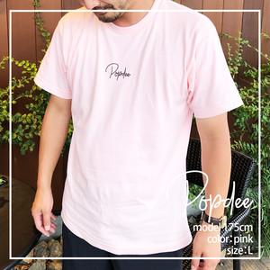 POPdeeロゴTシャツ2020 ライトピンク