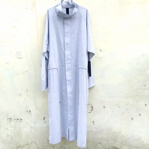 ODEUR studios Over long shirt light gray