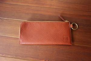 ファスナーウォレット ロングタイプ イタリアンレザーの長財布