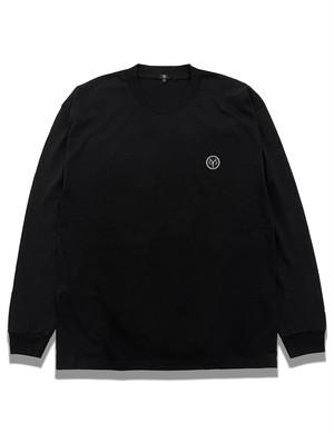 """""""Circle YS"""" Long sleeve T-shirt / BLACK"""