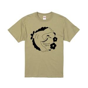 つるうち家のTシャツ/カーキ
