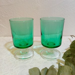 """Luminarc [リュミナーク]"" 70's Vintage Glass made in FRANCE [GV-36]"