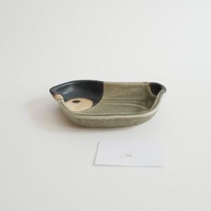 つぐみ製陶所 豆皿 エンペラーペンギンヒナ