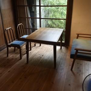 JP Modern Dining Chair BL / 和モダンスタイル 和モダン ダイニングチェア ブルー