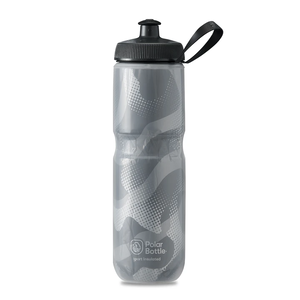 POLAR BOTTLE / Contender 24oz / Charcoal/Silver