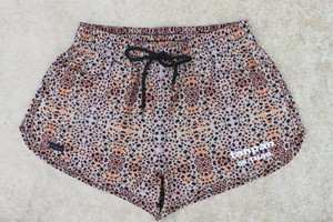 tanpan Leopard 3in for Womens & Runner  / tanpan短パン