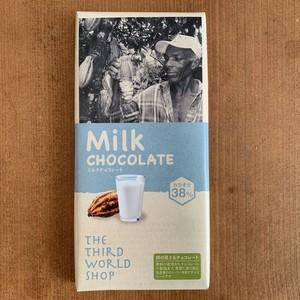 フェアトレードチョコレート ミルク 【乳化剤・白砂糖不使用】