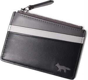 MAISON KITSUNE メゾンキツネ カードケース Black[全国送料無料] r017237
