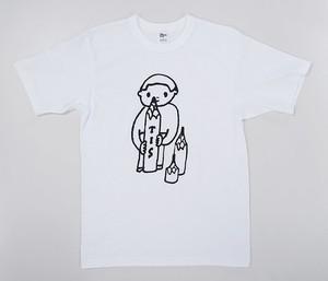 【久米繊維×TIS】オリジナルTシャツ カラー:白