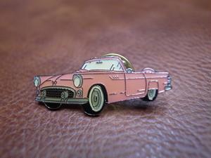 アメ車 ピンバッジ(ピンク) 旧車 アメリカ車