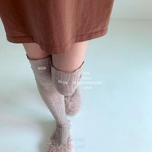 «即納・予約»«ママサイズあり» GO.U long socks ロングソックス