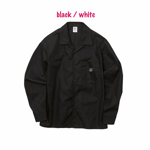hntbk work shirt rocksteady(black / white)