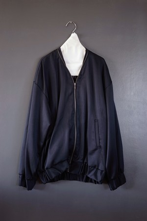 pelleq - zip trimmed bomber jacket