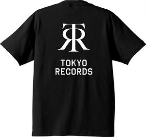 TOKYO RECORDS BP TEE(BLK x WHT)