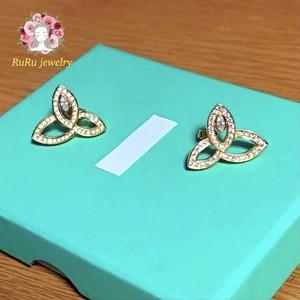 s925 lily(pierce)