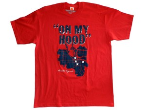 SALUTE(HOODSTAR)red×navy