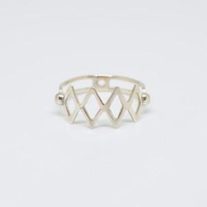 TRUMP RING (DIAMOND・SILVER)