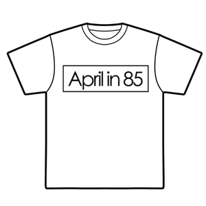 Logo T-shirts / April in 85