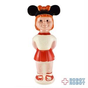 ミッキーマウスクラブ マウスケティア ガール 赤 ソーキー シャンプーボトル ※難有り