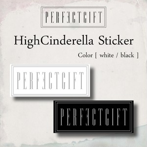 HighCinderella Sticker